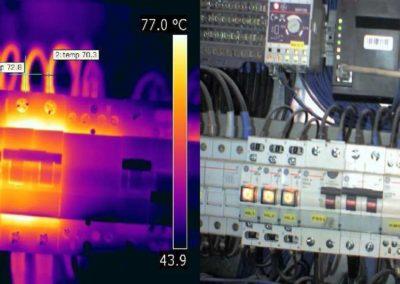 Diagnosis de seguridad y consumo eléctrico para instalaciones industriales